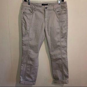 White House Black Market Slim Crop Pants Sz. 4